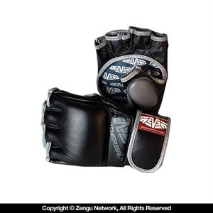 Seven Hybrid MMA Gloves - Black